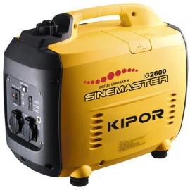 Бензиновый (1)-фазный инверторный генератор Kipor IG2600 (2,3 кВт)
